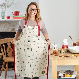 British Egg Organic Cotton Apron I Love London