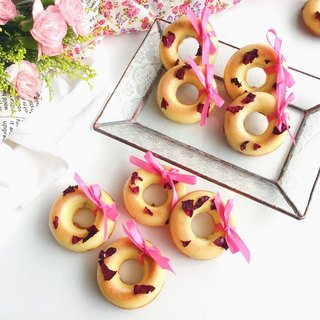 Small dim sum series • Wedding small vanilla roses good moon donut shape pound cake**Please contact us before ordering the schedule**