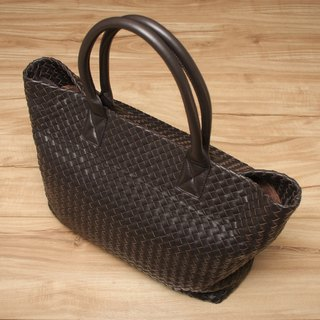 STORYLEATHER made Style 6103 woven bag