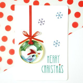 Hand made decorative cards-Christmas bell