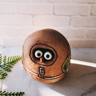 C-42 Owl Decoration │ 吉野鹰x Office Small Things Pottery Design Bell Cute Gift