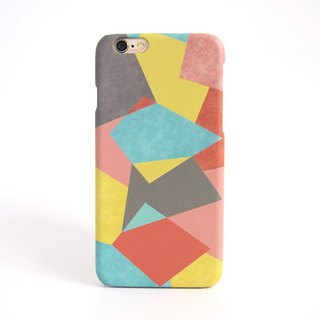 Retro Geometric Graphic iPhone case V.1