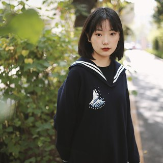 SYAO / Homemade OK Wave Sailor Dress