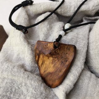 Morning 曦 Xiao Nanmu Wood Necklace