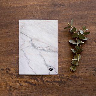☆ ° Rococo Strawberry WELKIN hand ° ° ☆ 2018 PDA / self-filling date calendar calendar notebook _ marble