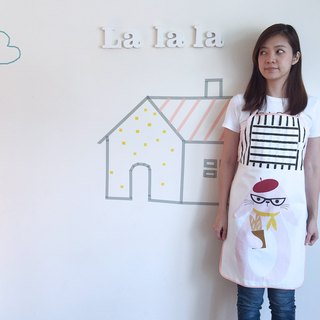 La la la [rabbit] Good Day_ breakfast aprons / limited hand / kitchen baking a good thing