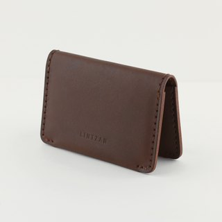 Classic 20% Business Card Holder/Card Holder - Deep Coffee