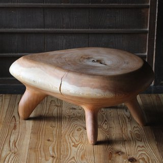 Wooden stool / table  GOROTANS  Drop