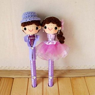 Lavender dress models wool happy baby pen