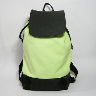 Tough cover beam rear backpack (canvas) __made as zuo zuo hand made backpack