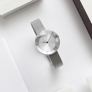 FLOATING 3867 Optical Aesthetics Milan Watch - Silver