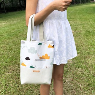 Seagull cloud suede stitching bag handbag shoulder bag custom knocking