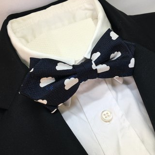 Cloud with ... bowtie  clouds wether butterfly Navy