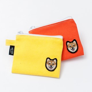 【Pjai】Coins Purse - Yellow//Orange (PU296)