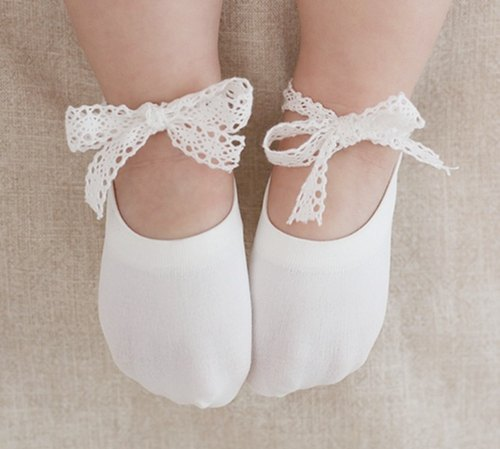 Happy Prince Ballerina Baby Girl Cool Sock Korea Made Lace Ballet
