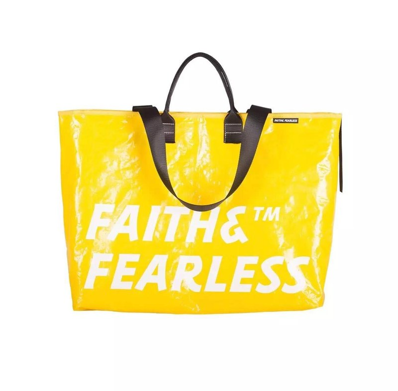 Faith & Fearless Pop Bag _Lemon
