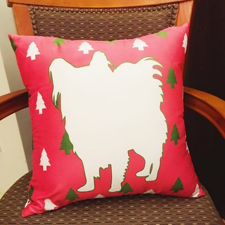 Butterfly dog ​​pillow (a set of three, color optional)