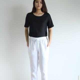 Made to order linen pants /women linen pants /women clothing /casual pants E31P