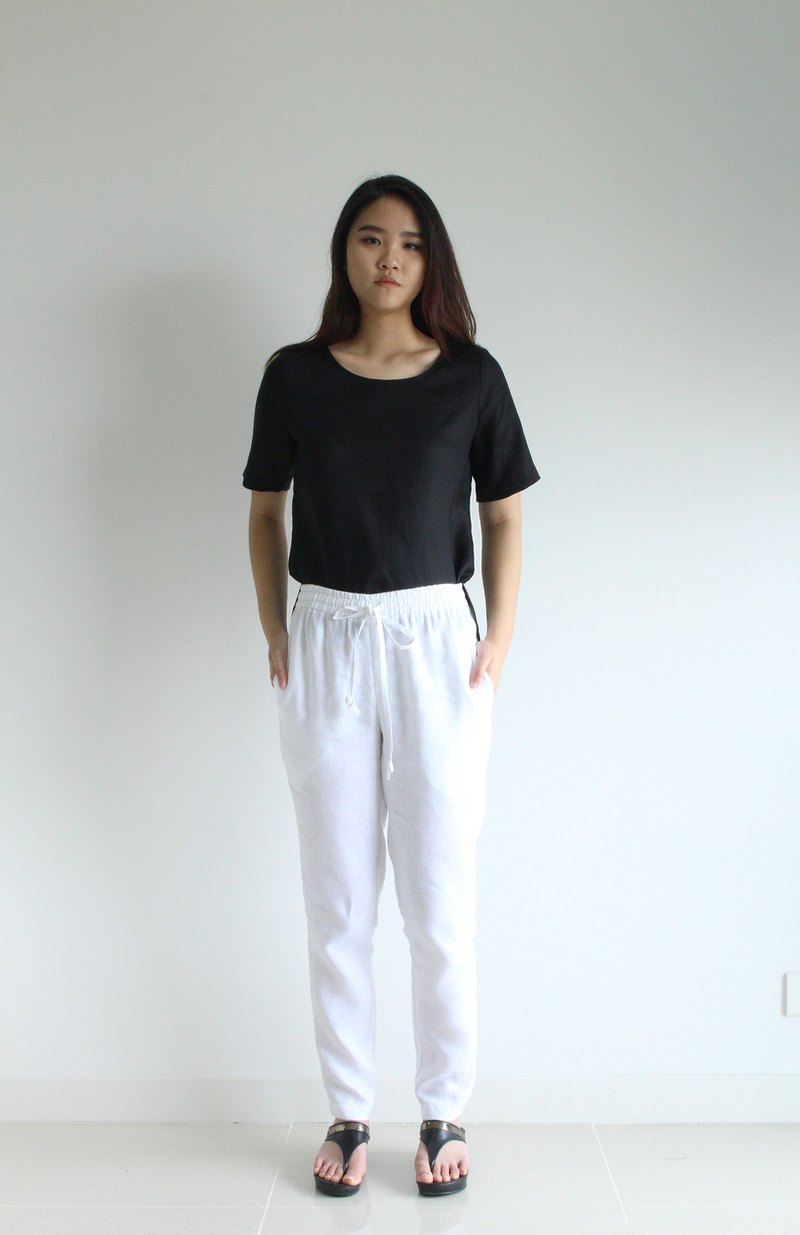 E31P linen pants /women linen pants /women clothing /casual pants