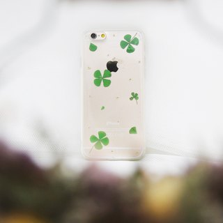 小幸运 • Handpressed Flower Phone Case