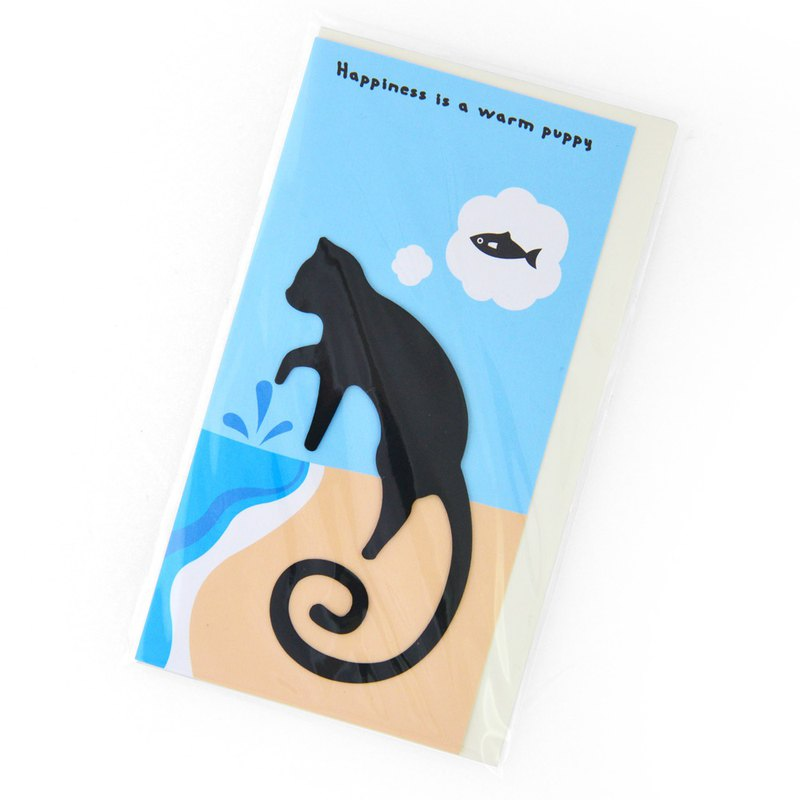 Desk+1 Bombay Cat Bookmark, made of metal, best gift for cat lover