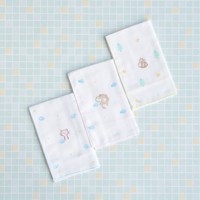 100% pure cotton small towel