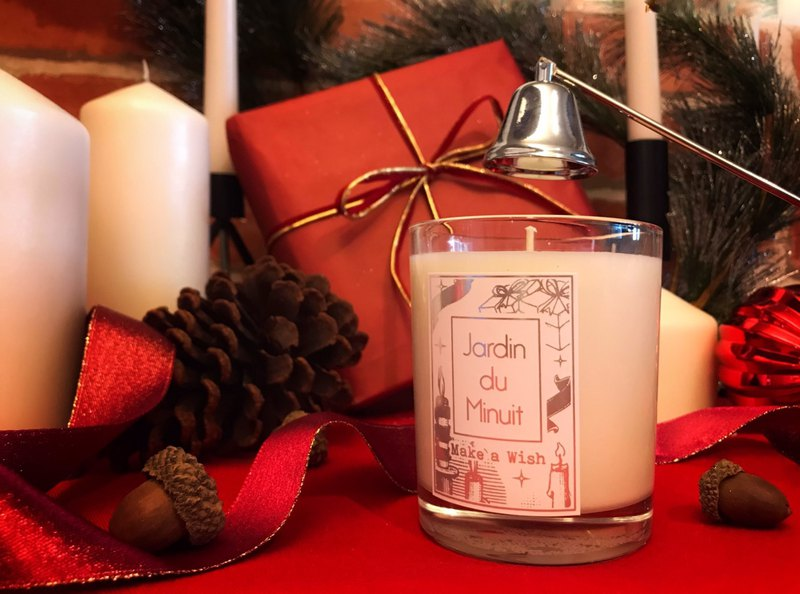 Christmas Limited Soy Candle - Make a Wish