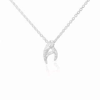 A. / Silver Necklace