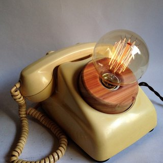 """CL Studio"" [old soul retro 600 antique nostalgic telephone lamp holder] / T4"