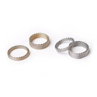 Mara Double Gold / Silver Rings