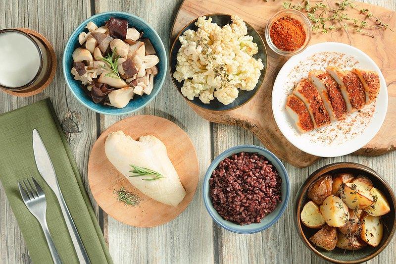 【減醣健康餐】足量五餐組・常常好食   健康制作所