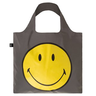 LOQI Shopping Bag - Museum Series (Reflective Smile RESM)