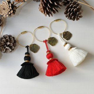 "Tassel key chain ""Xmas"""