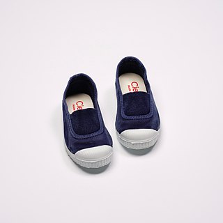 Spanish national canvas shoes CIENTA children's shoes size washed old dark blue fragrant shoes 75777 84