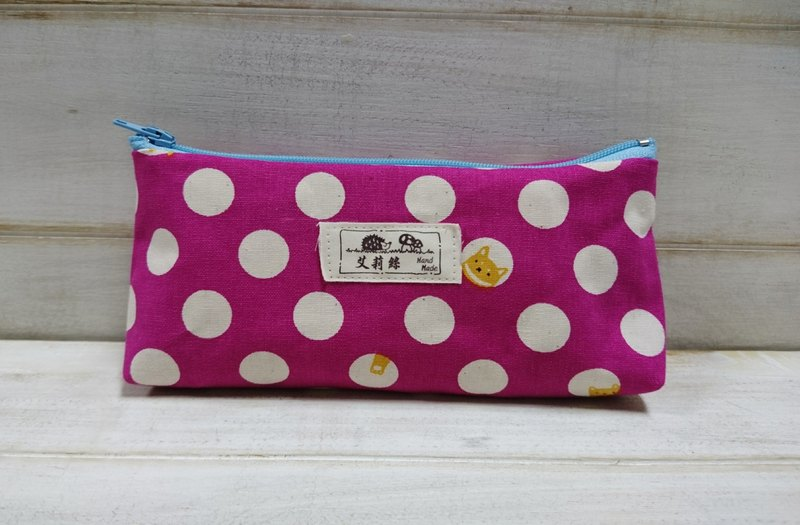 Pink Pizza Pen Pouch - Storage Bag