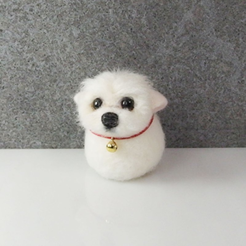 Wool felt Malzis long hair pill [feiwa 霏 手 hand] pet (welcome to order your dog)