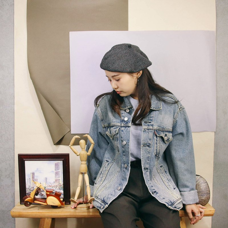 Levi's denim jacket A04 American tannin jacket [Tsubasa.Y ancient house]