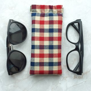 Sunglasses glasses case flex frame pouch