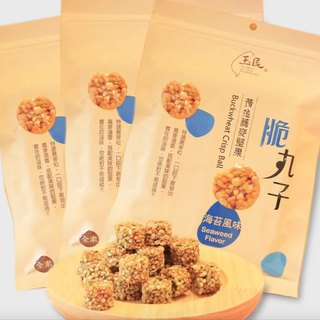 Seaside walks carefully - seaweed nut crispy balls (seaweed flavor) X3 package