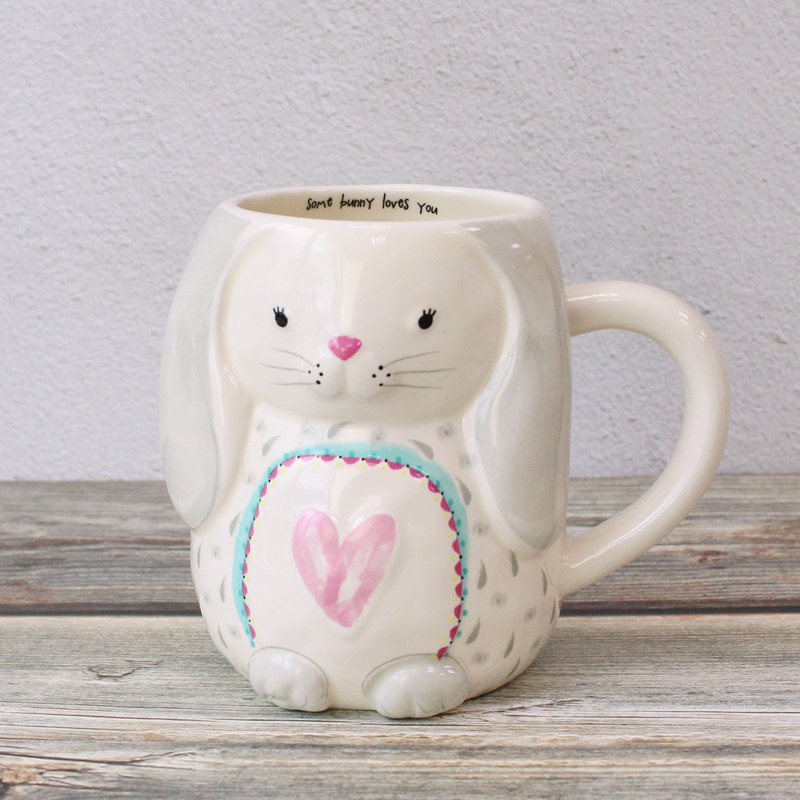 Shape mug 16oz-rabbit | MUG288