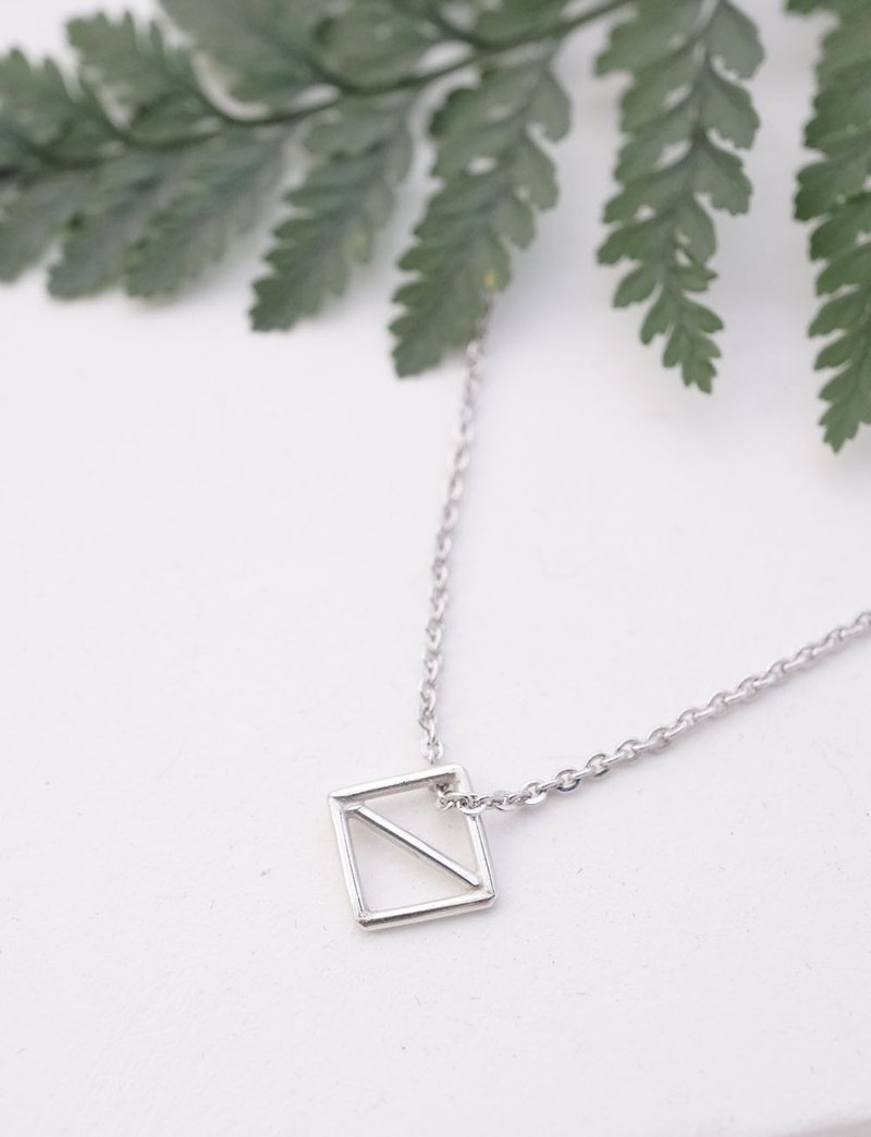Day is a good day sterling silver necklace
