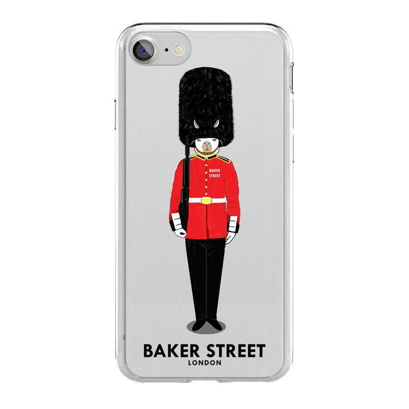 British Fashion Brand -Baker Street- iPhone Case - Grenadier Guards
