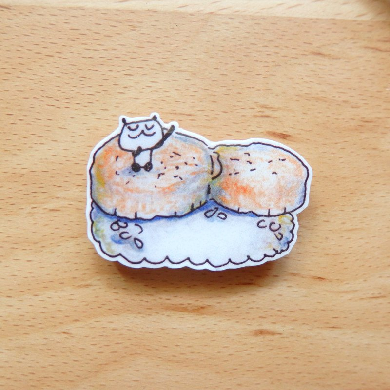 【Hide and seek】 Scallop Sushi Brooch