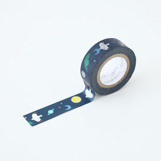 livework-Piyo paper tape (single entry) - a summer night, LWK53237