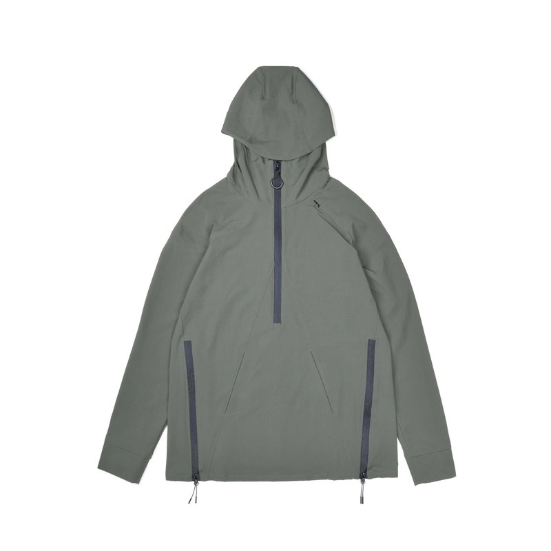 oqLiq - Display in the lost - Shan word Hoodie (Green)
