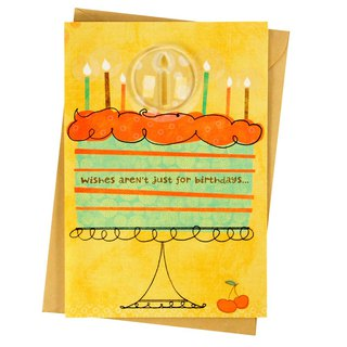 There are 365 days of wishes waiting for you to come true [Hallmark - Creative Handmade Card Birthday Wishes]