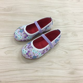 Children's shoes plum light purple