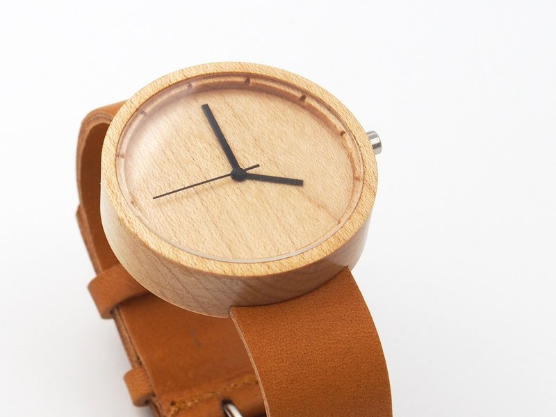 Nakari watch Maple Tan Men size