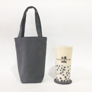 Beverage bag with coaster / Tin Grey