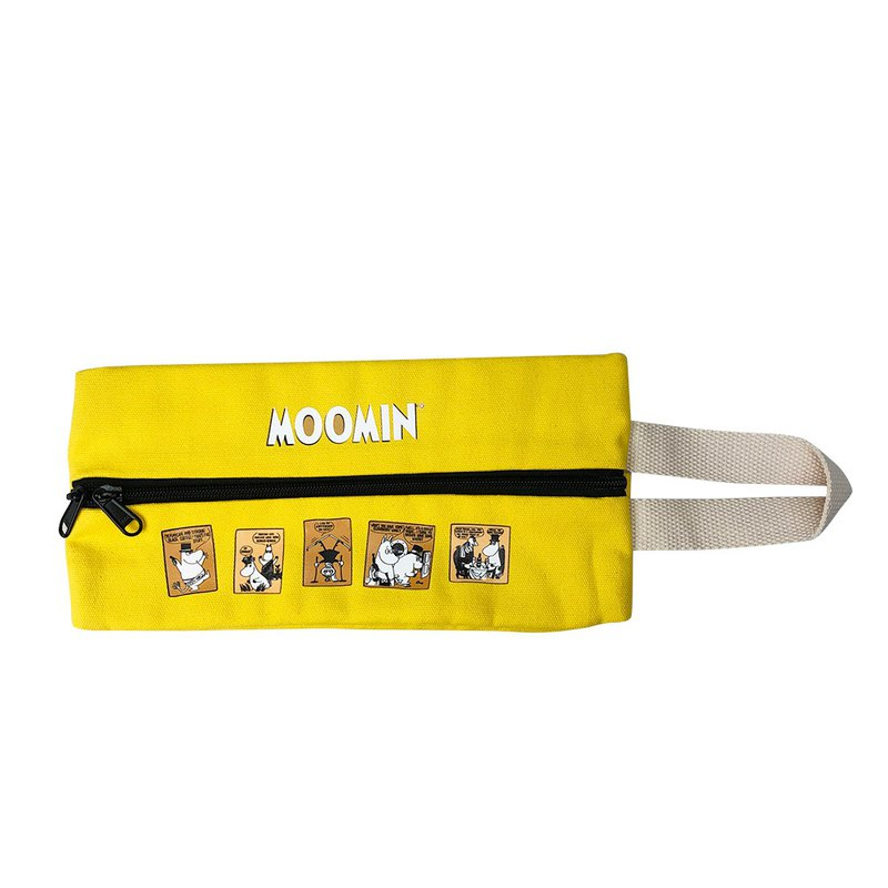 Moomin 噜噜米 authorized - multi-function face paper bag (yellow), CH4AE07